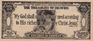 dollar evangelism